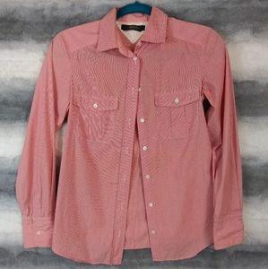 Weekend MaxMara Pinstriped Button Up Shirt S